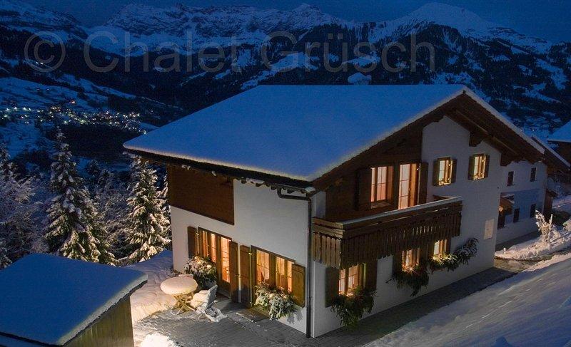 Chalet Grüsch, holiday rental in Gruesch