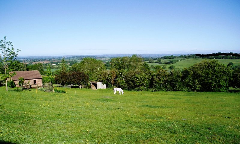 Secluded and tranquil retreat in open countryside., holiday rental in Erlestoke