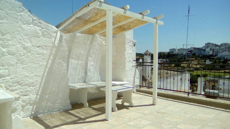 Nice studio with terrace, holiday rental in Marina Di Ostuni