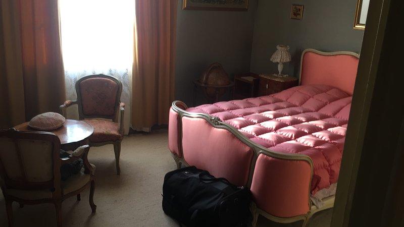 Très beau T2 Apt vintage style Louis XVI Lyon 7eme Grd garage privé 2 places, holiday rental in Venissieux