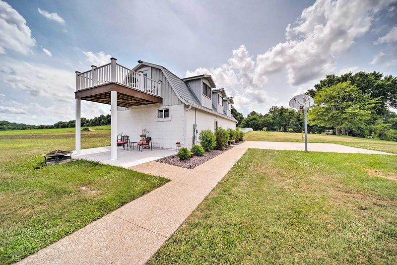 ¡Experimenta la vida en el campo en esta casa rural de alquiler en Berger!