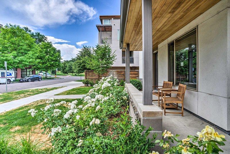 Soggiorno in questo situato in posizione centrale residenza cittadina in affitto a Denver!