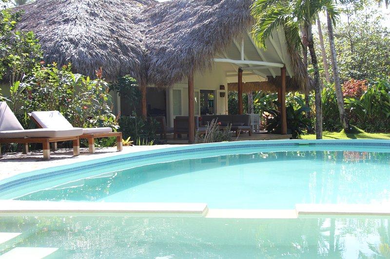 Beach Villa Caribbean Style - Playa Bonita - Las Terrenas, holiday rental in Nagua