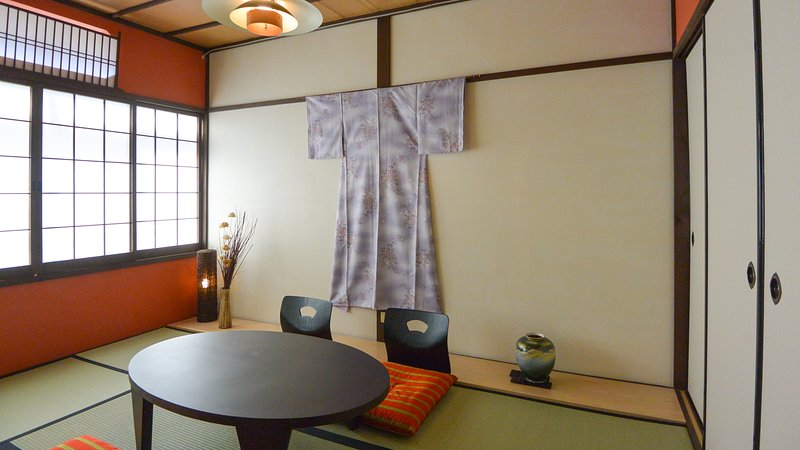 A newly renovated Japanese style house.