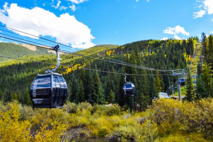 Take The Gondola Up The Mountain To Hike Or Bike