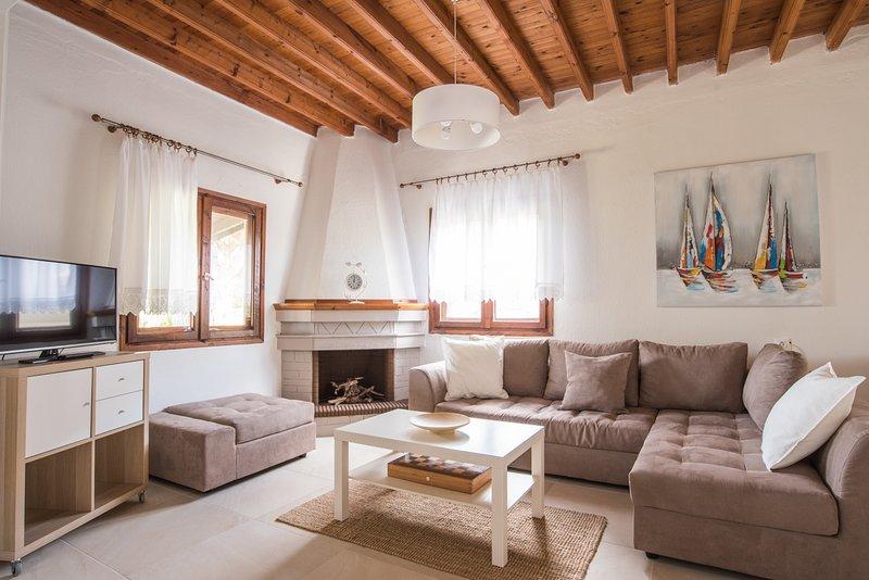 Quintessence Villa Trani Amouda, location de vacances à Sesi