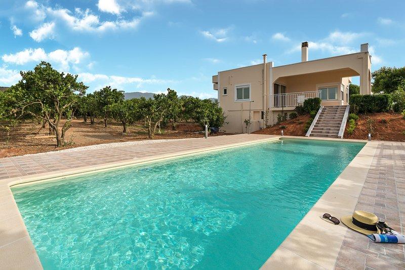Light Filled Spacious Private Villa with Pool, alquiler vacacional en Zourva