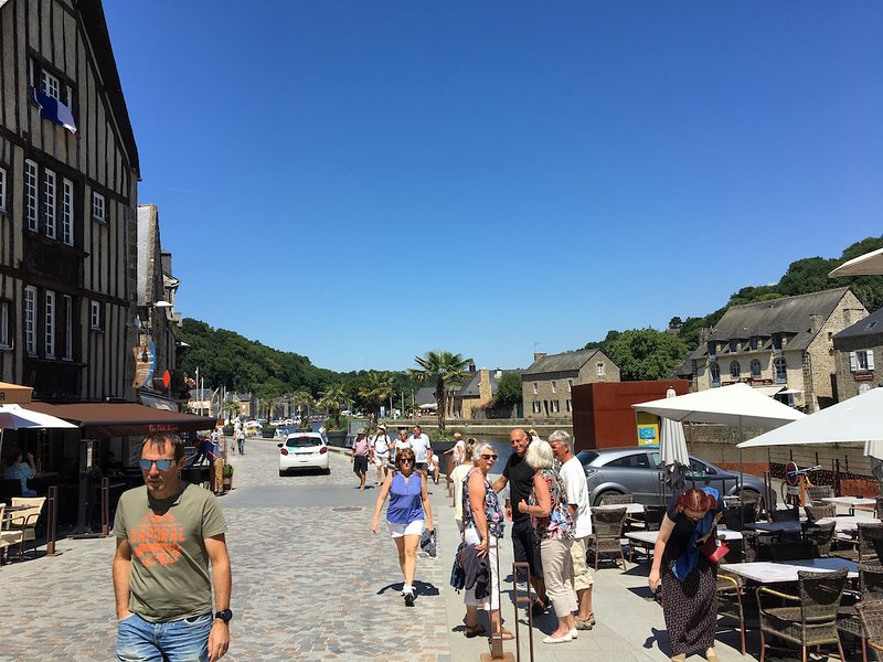 More of the port in Dinan.