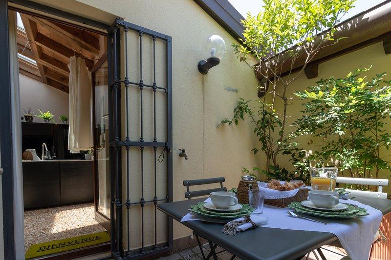terrace access
