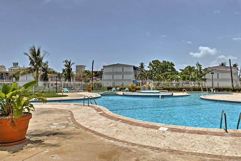 The condo is located in the gated  Villas De Playa II complex!