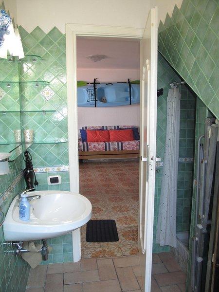 BATHROOM-SHOWER AREA DAY