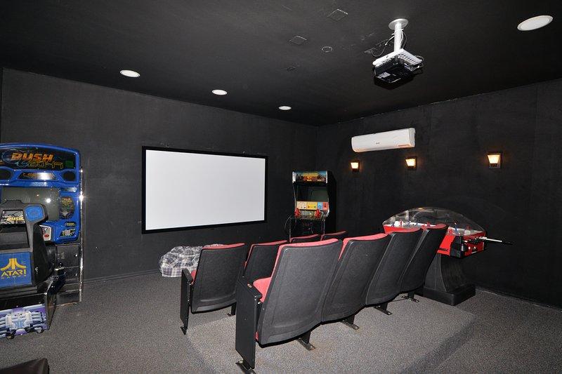 In home theatre