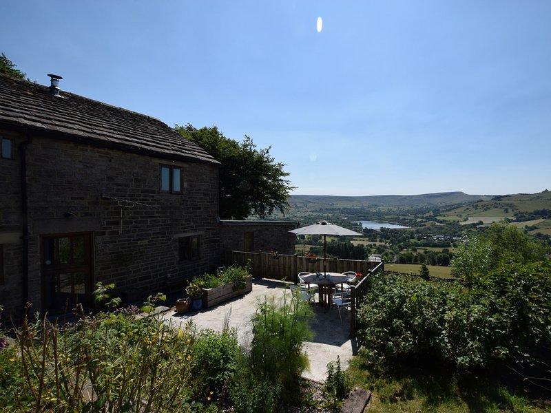 View towards the cottage and beyond