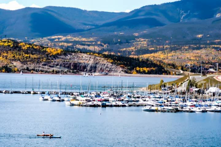 All Kinds Of Boating On Lake Dillon