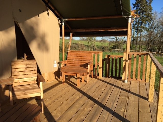 Pump House Lodge - Sweeney Farm Glamping, holiday rental in Pant