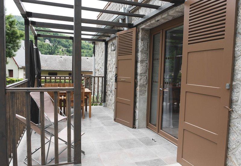 Gite 4**** T2 47 m²  terrasse-parking privée-sauna-salle de sport-wifi, location de vacances à Ax-les-Thermes