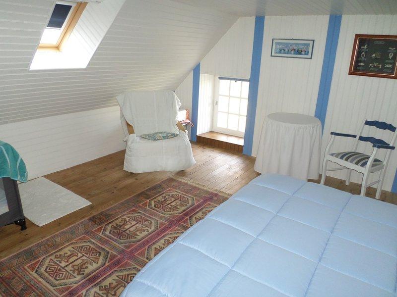 La Maison bleue Gite Indépendant et typique de la Région,  à 200 m du bourg, alquiler vacacional en Séglien
