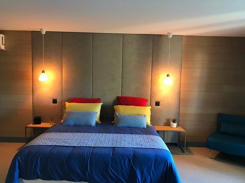 Chambre d'hôtes proche de Calvi, holiday rental in Calenzana