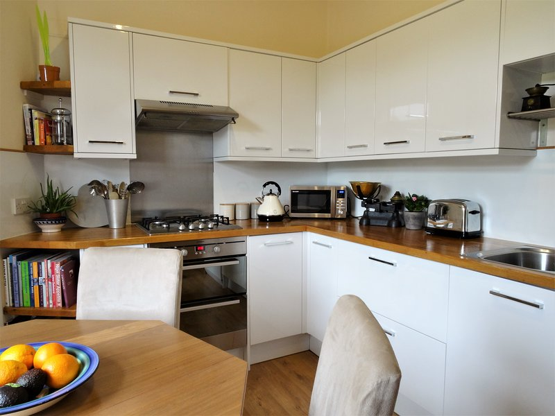 Bright, homely kitchen