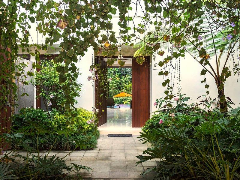 Villa Shinta Dewi Ubud - On entry