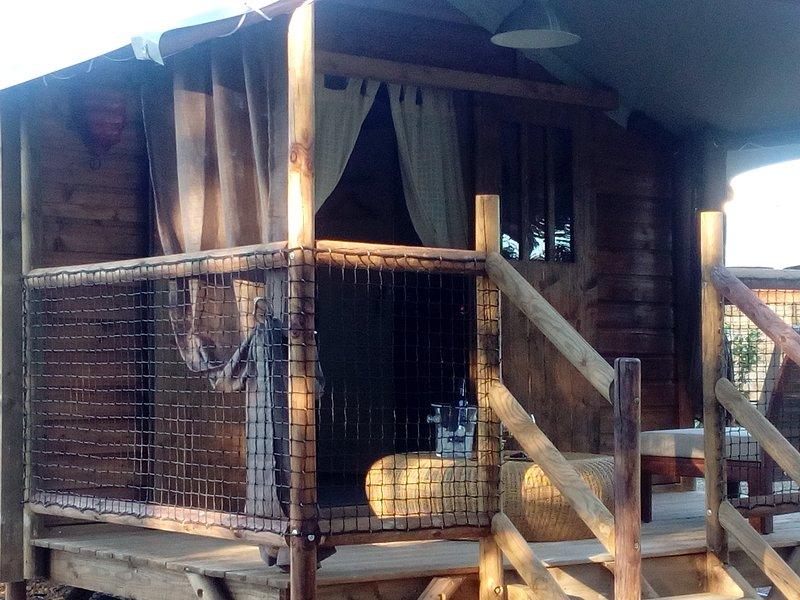 Les lodges d'Adélaïde,hébergements insolites, vakantiewoning in Vindrac-Alayrac