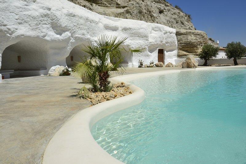 Cueva Aventura Lucia, hébergement troglodyte, Andalousie, alquiler vacacional en Cortes de Baza