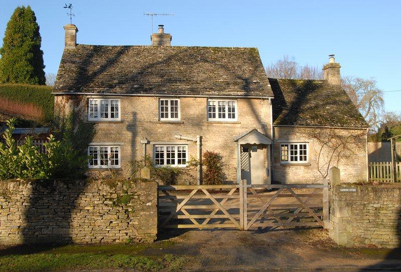 Gardeners Cottage, holiday rental in Ascott-under-Wychwood