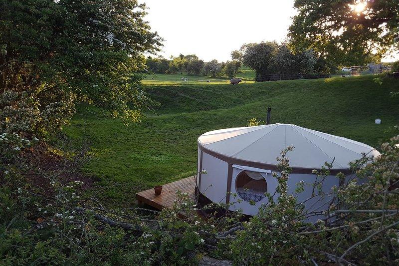 Snape Bank Ryeland Yurt