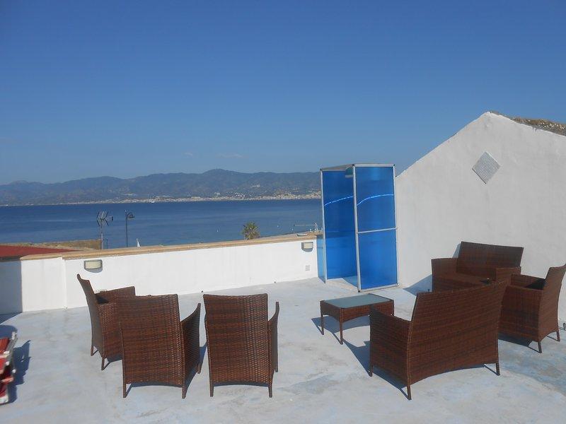 La Veranda sul Mare, vakantiewoning in Province of Reggio Calabria