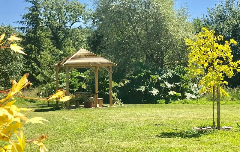New pavilion and sanctuary area