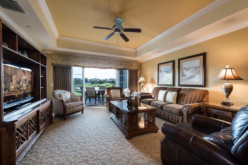 Open en luchtig de woonkamer wordt een centraal punt voor het luisteren naar muziek, games of tv kijken