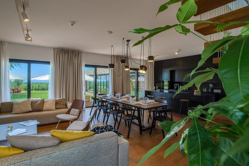 Yellow Tree Jurici Home & Spa: Modern and Comfortable Design Villa, vacation rental in Baderna