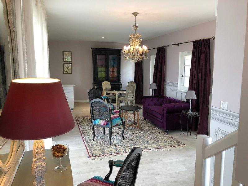 Cottage jardin - duplex standing Azay le rideau, holiday rental in Azay-le-Rideau