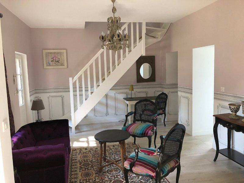 Cottage Parc- duplex standing Azay le rideau, holiday rental in Azay-le-Rideau
