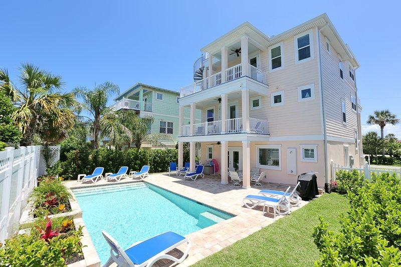 3 étages luxueuse maison vue sur l'océan sur St. Augustine Beach