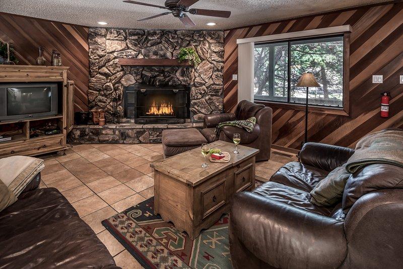 Luxury Cabin near Downtown w/ WiFi, Fireplace, Grill & Outdoor Hot