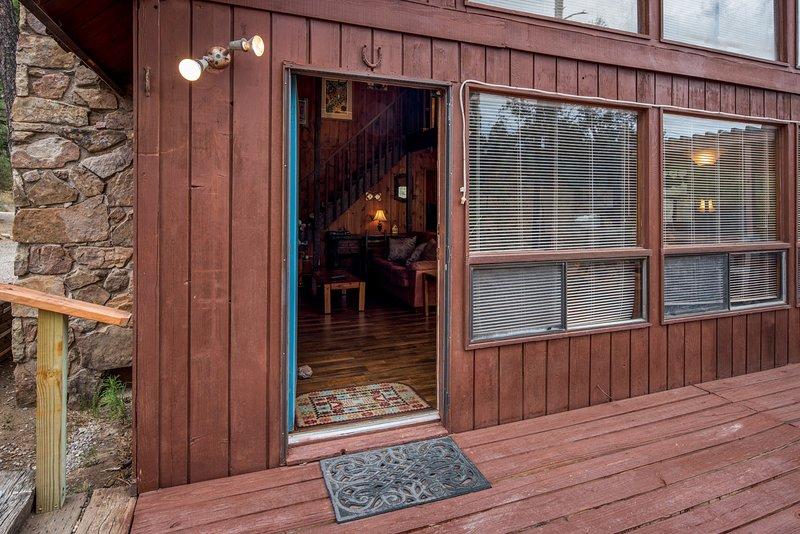 Luxury Cabin Near Downtown W Wifi Fireplace Grill Hot