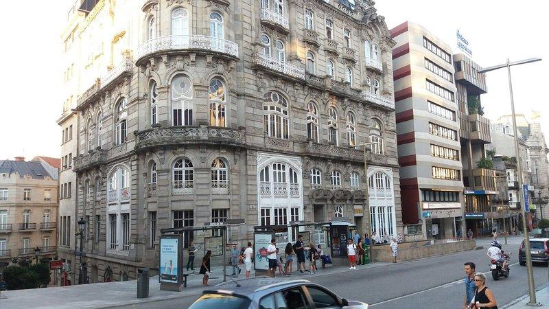 Edificio El Moderno, Vigo 1.902, holiday rental in Vigo
