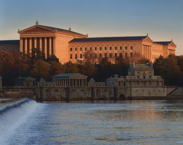10 min en Uber del Museo de Arte de Filadelfia