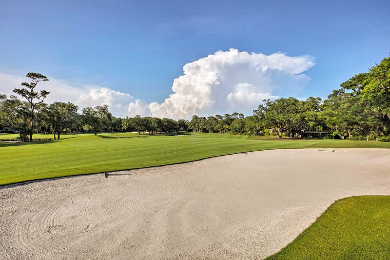 Kiawah Island is home to 5 public golf courses!