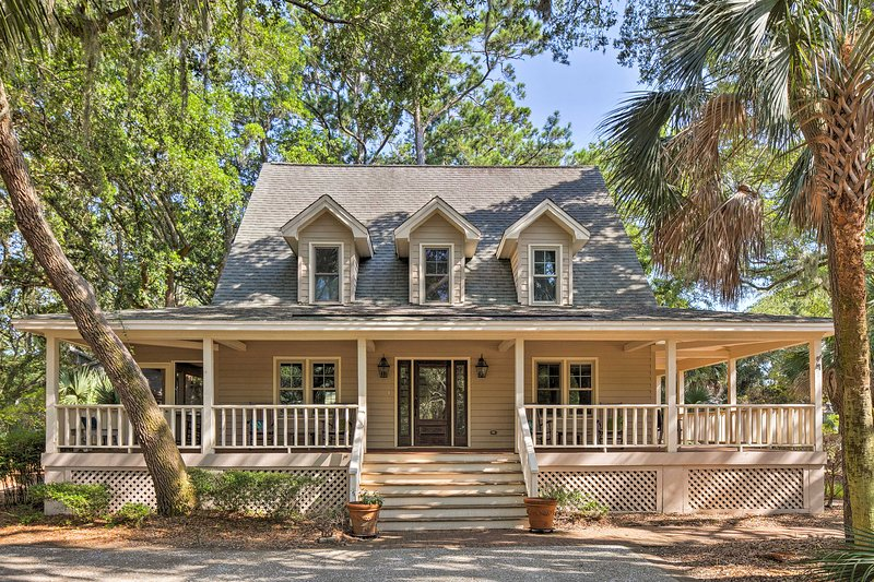 This Kiawah Island vacation rental home is the perfect getaway!