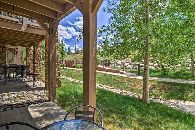Explore the year-round wonders of Breckenridge from this vacation rental condo.