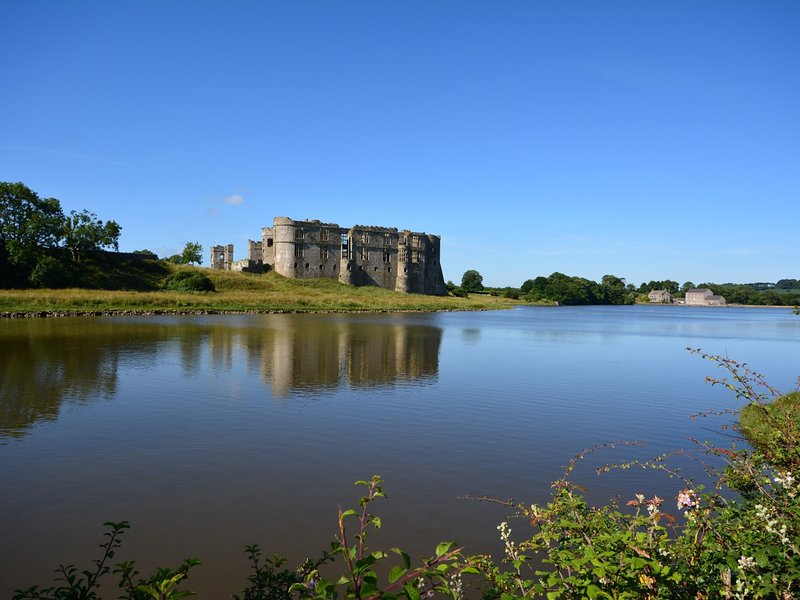 Castles galore such as nearby Carew with lovely mill pond walk