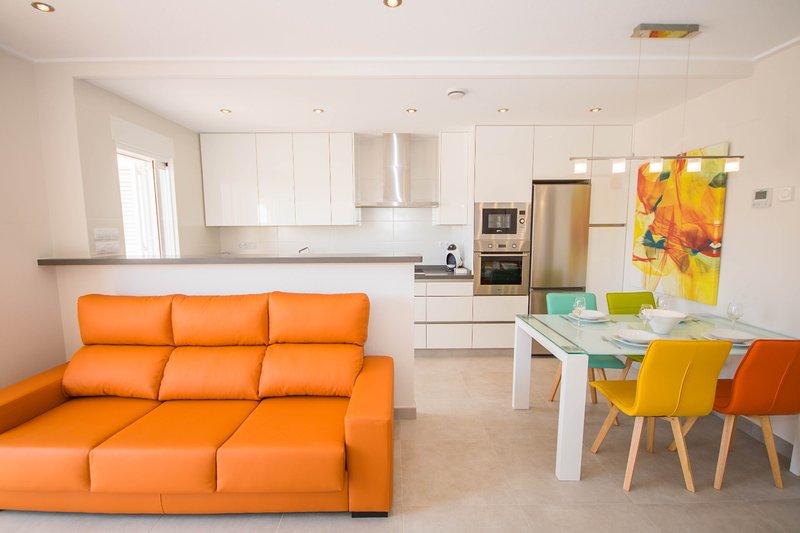 VISTA AZUL SPA, jacuzzis , sauna, piscines, vacation rental in San Miguel de Salinas
