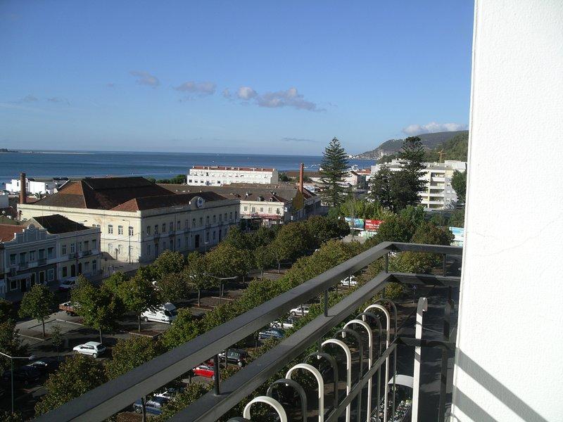 Vista desde el balcón de Arrábida