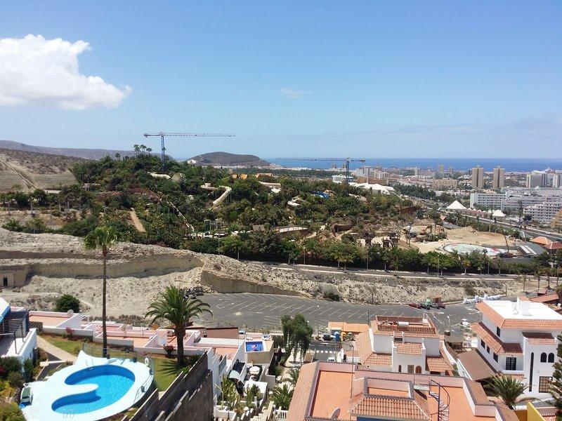 Beautiful studio with sea view, holiday rental in La Caldera