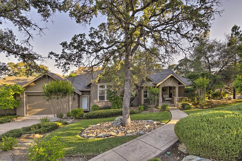 Your Golden State getaway begins at this beautiful Angels Camp vacation rental.