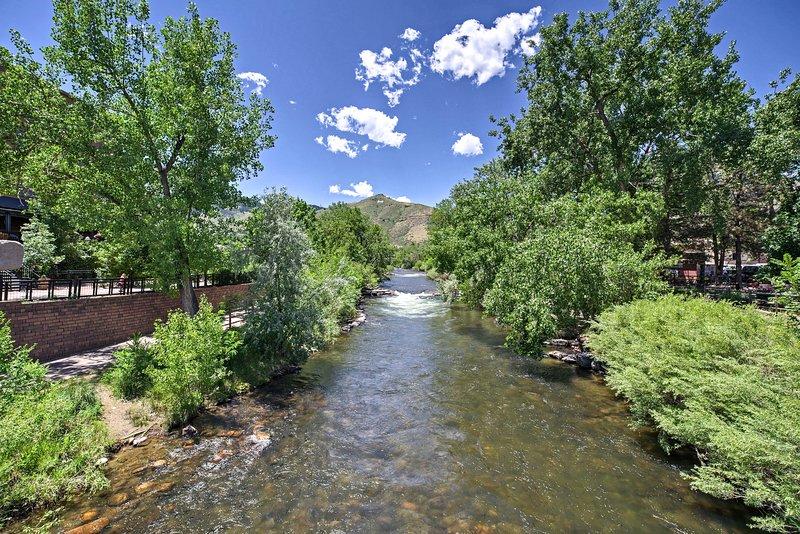 Walk along the Cedar Creek Path before you head back to the apt!