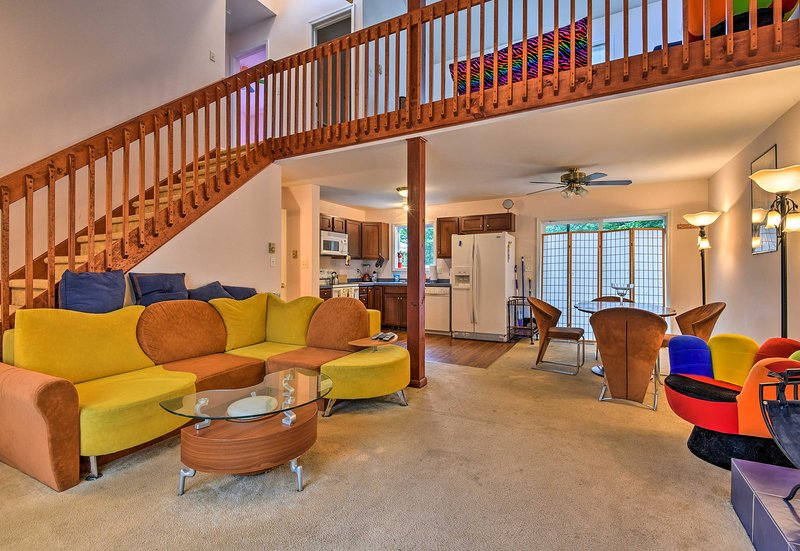 Explore the Poconos from the comfort of this Dingmans Ferry home!