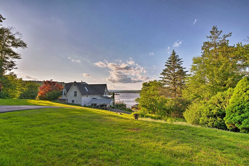 Find your forever home-away-from-home on Harveys Lake at this exceptional house.